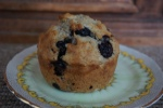 Healtheries Ground Chia, oat, blueberry and orange muffin.